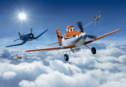 Wall mural wallpaper Disney Planes